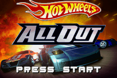 Hot Wheels - All Out (U)(Sir VG) Title Screen