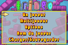 Tringo (E)(Independent) Title Screen