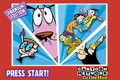 Cartoon Network Collection Premium Edition - Gameboy Advance Video (U)(Sir VG) Title Screen