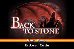 Back to Stone (U)(Rising Sun) Title Screen