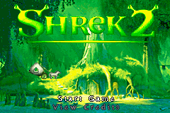 2 in 1 - Madagascar & Shrek 2 (U)(Independent) Title Screen