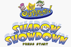 The Fairly Oddparents - Shadow Showdown (E)(Sir VG) Title Screen