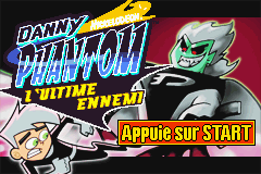 Danny Phantom - The Ultimate Enemy (E)(Sir VG) Title Screen