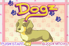 Dogz (E)(Sir VG) Title Screen
