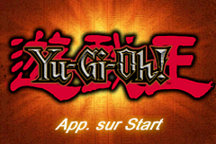 Yu-Gi-Oh! - Yugi Vs Joey Volume 1 - Gameboy Advance Video (F)(Independent) Title Screen
