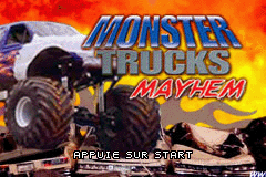Monster Trucks Mayhem (E)(sUppLeX) Title Screen