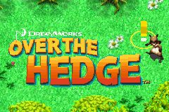 Over the Hedge (E)(Independent) Title Screen