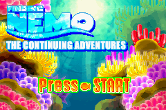 2 in 1 - The Incredibles & Finding Nemo - The Continuing Adventure (U)(Sir VG) Title Screen