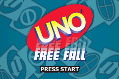 Uno Freefall (U)(Sir VG) Title Screen