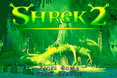 2 in 1 - Shrek 2 & Madagascar Operation Penguin (E)(Independent) Title Screen