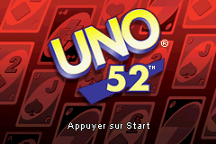 Uno 52 (E)(sUppLeX) Title Screen