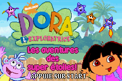 Dora the Explorer - Super Star Adventures! (E)(Sir VG) Title Screen