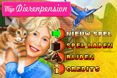 Mijn Dierenpension (E)(sUppLeX) Title Screen