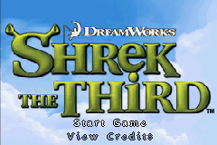 Shrek the Third (U)(Sir VG) Title Screen