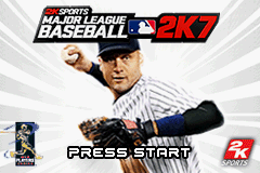 Major League Baseball 2K7 (U)(OMGba) Title Screen