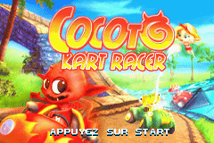 Cocoto - Kart Racer (E)(Independent) Title Screen