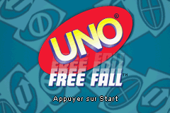 Uno Free Fall (E)(Sir VG) Title Screen