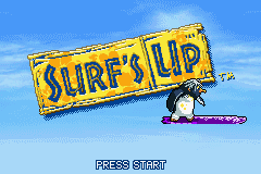 Surf's Up (U)(OMGba) Title Screen