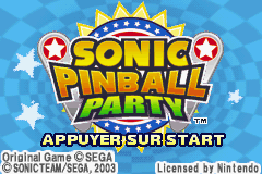 2 in 1 - Sonic Pinball Party & Columns Crown (E)(Independent) Title Screen