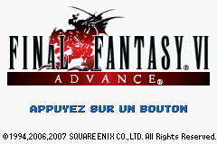 Final Fantasy VI Advance (E)(Eternity) Title Screen