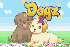 Dogz 2 (E)(Lightforce) Title Screen