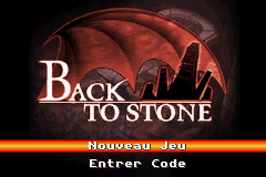 Back To Stone (E)(Independent) Title Screen