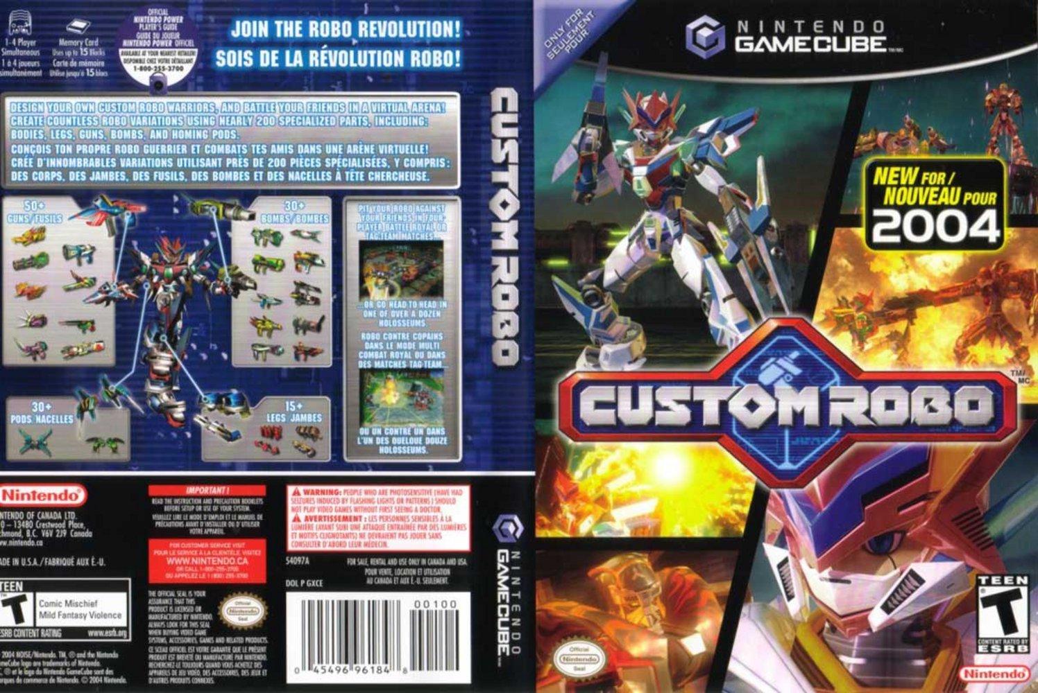 custom robo gc
