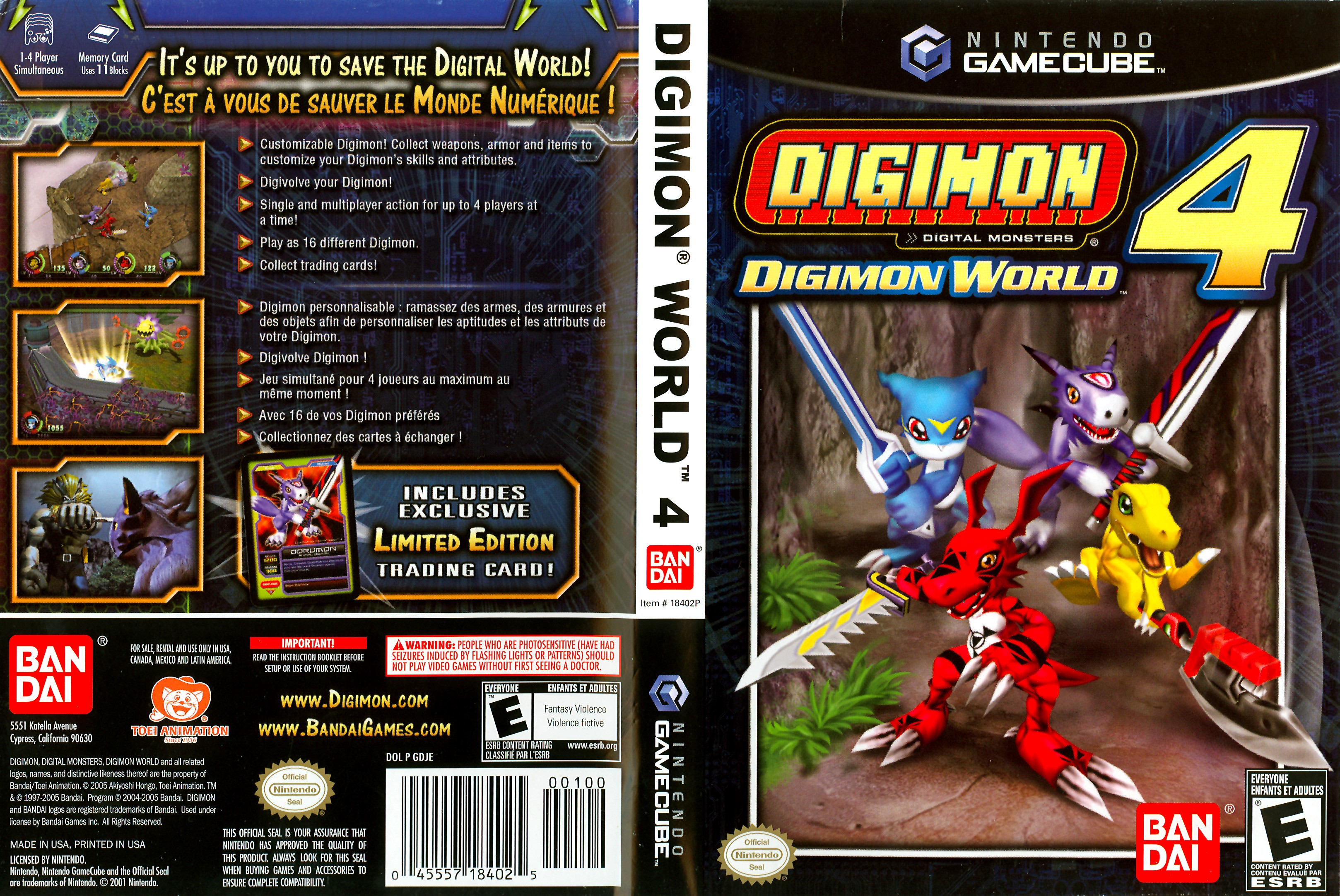 Digimon World 4 ISO < GCN ISOs | Emuparadise