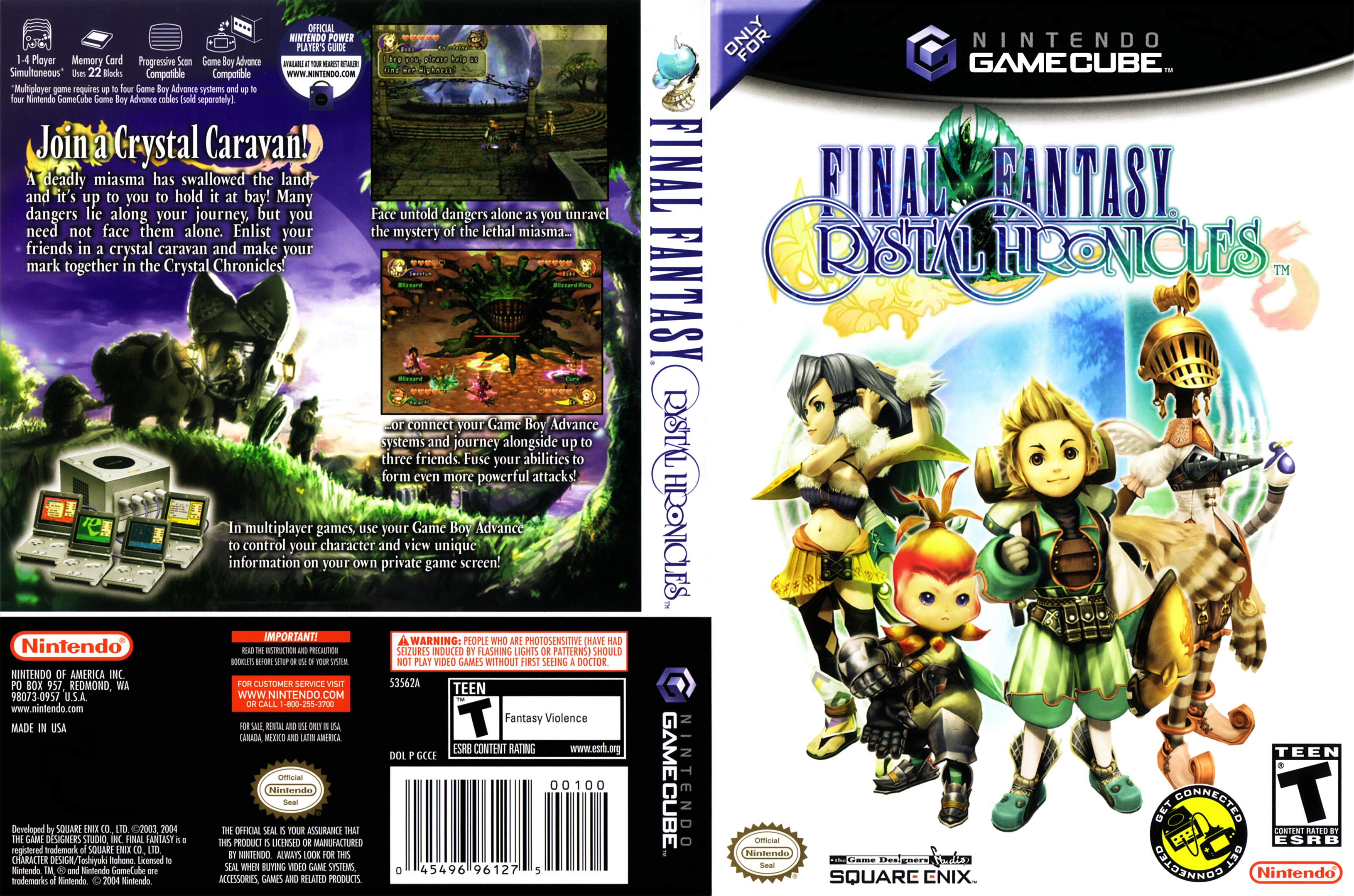 Final Fantasy 6 Rom final fantasy crystal chronicles iso < gcn isos | emuparadise