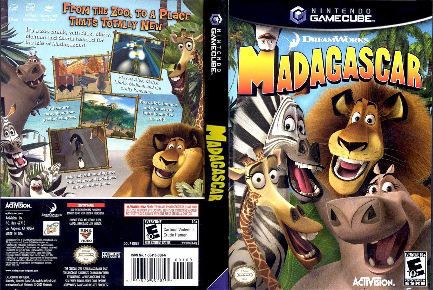 Madagascar ISO GCN ISOs Emuparadise