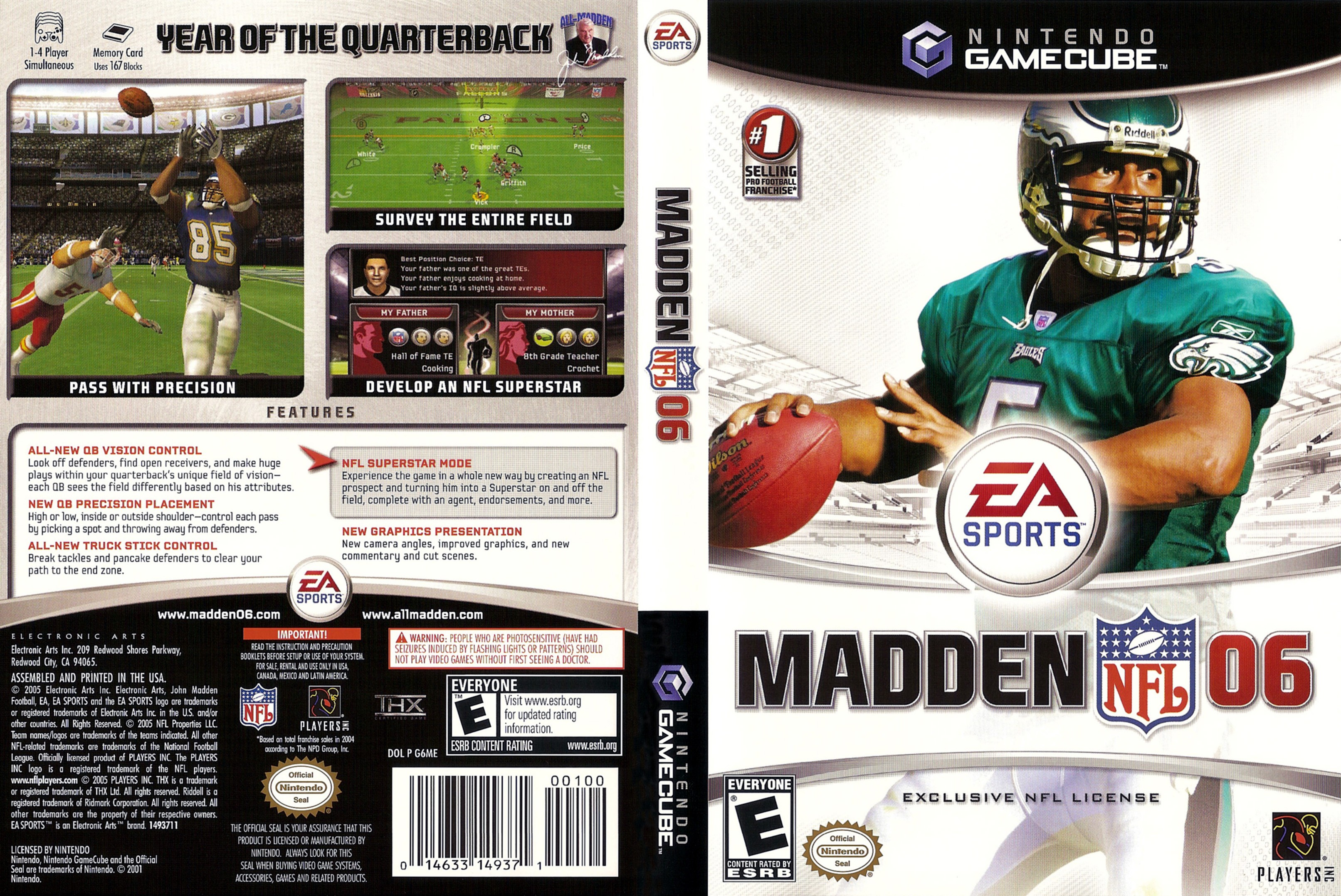 List of Synonyms and Antonyms of the Word: 2006 madden cover