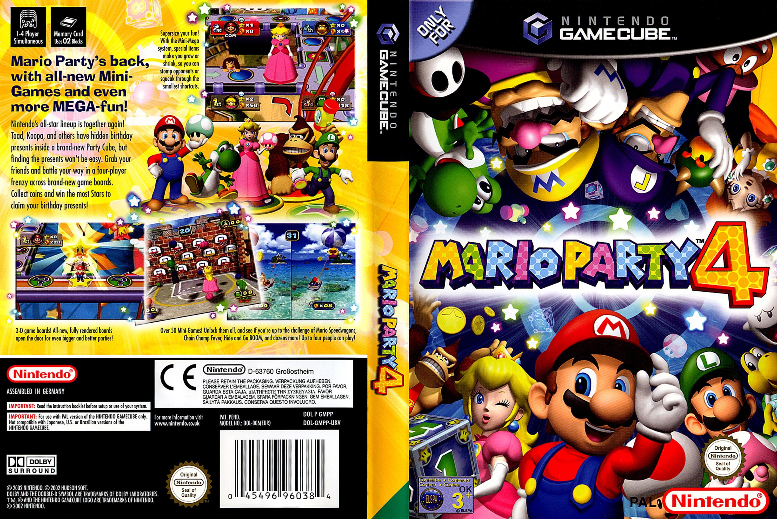 mario party 4 rom download gamecube