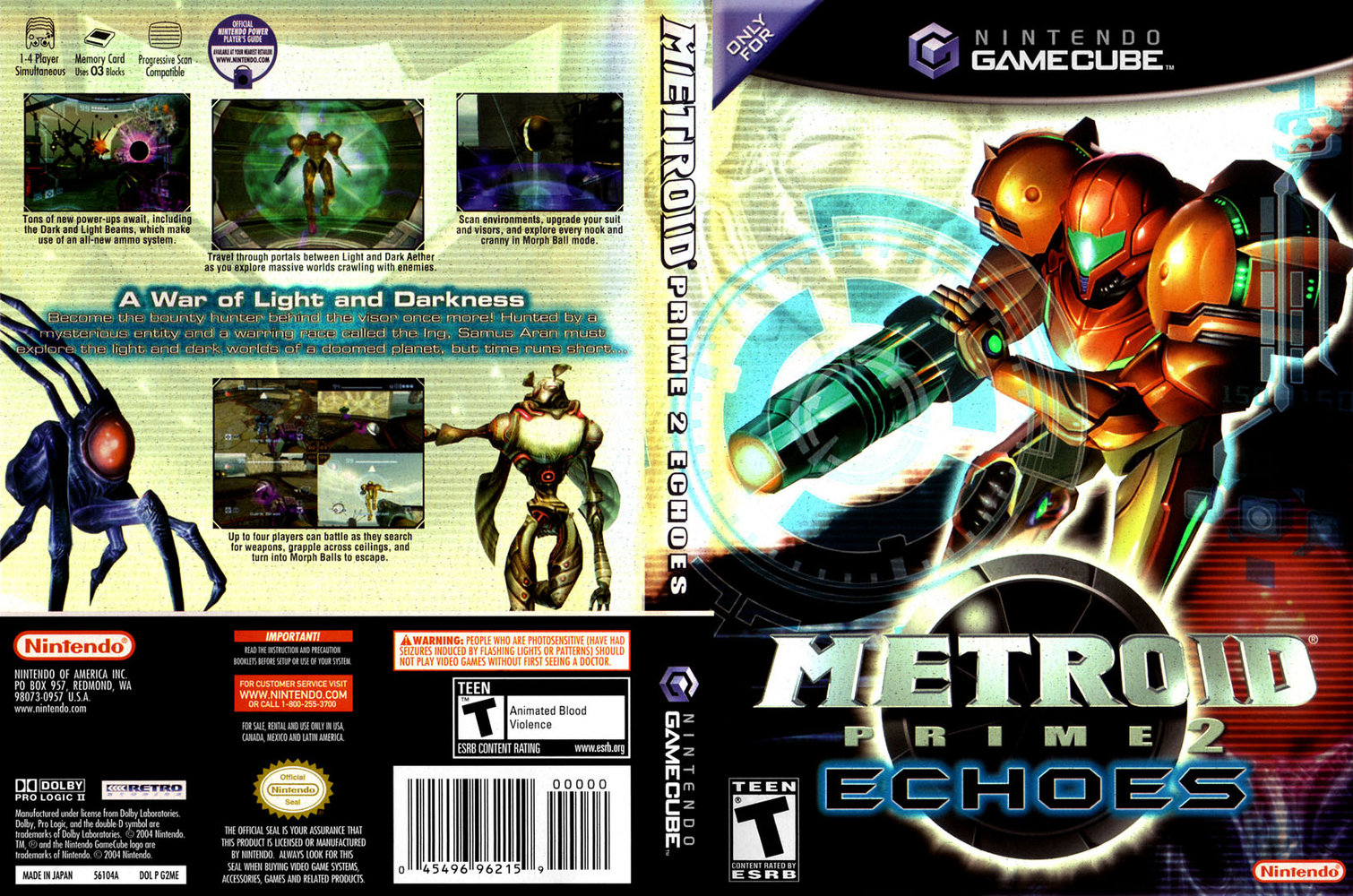 Metroid Prime 2 Echoes ISO < GCN ISOs | Emuparadise