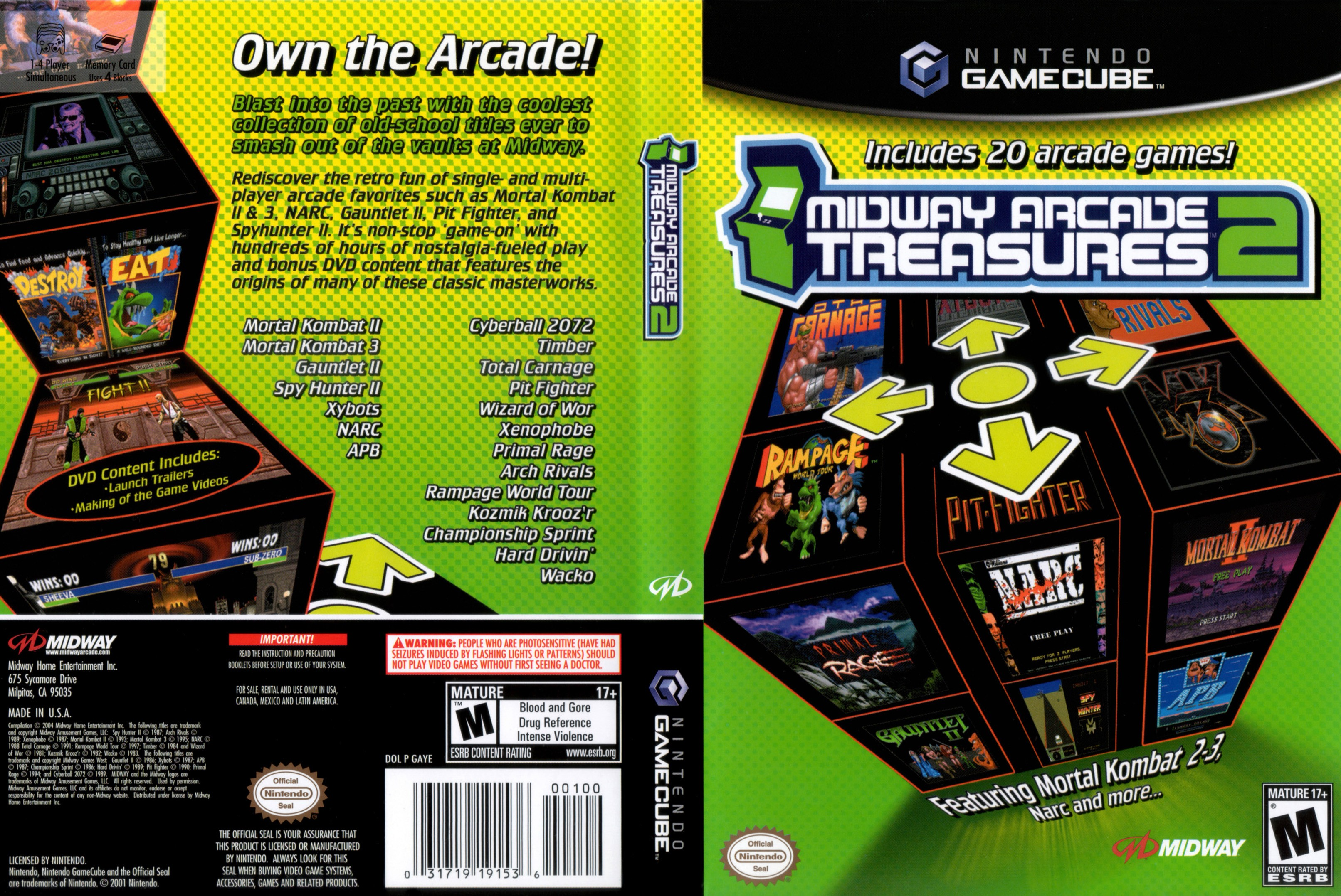midway arcade psp