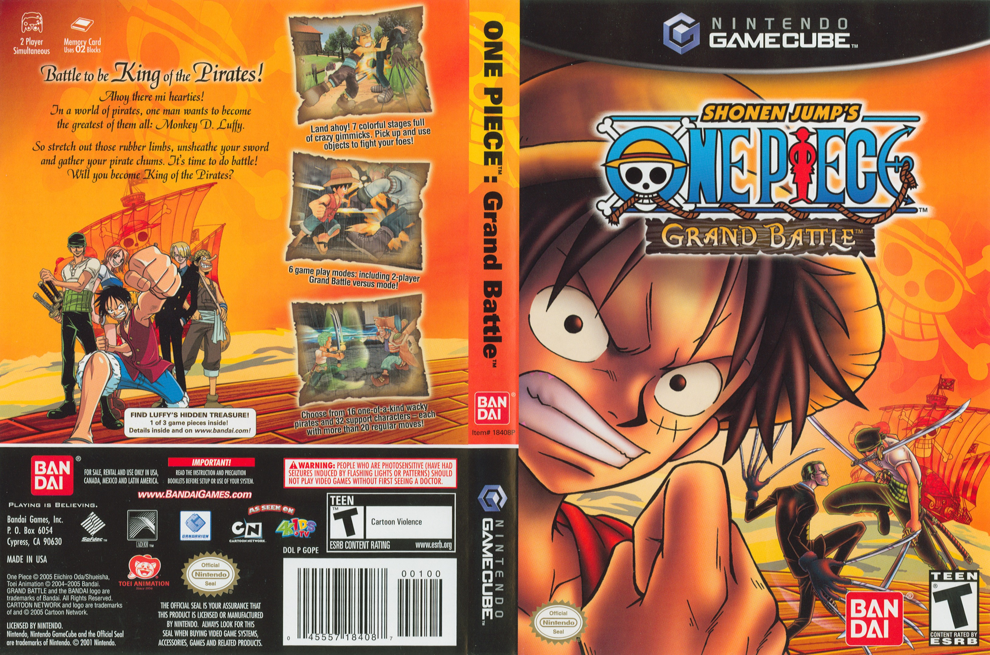 One Piece Grand Battle ISO < GCN ISOs | Emuparadise
