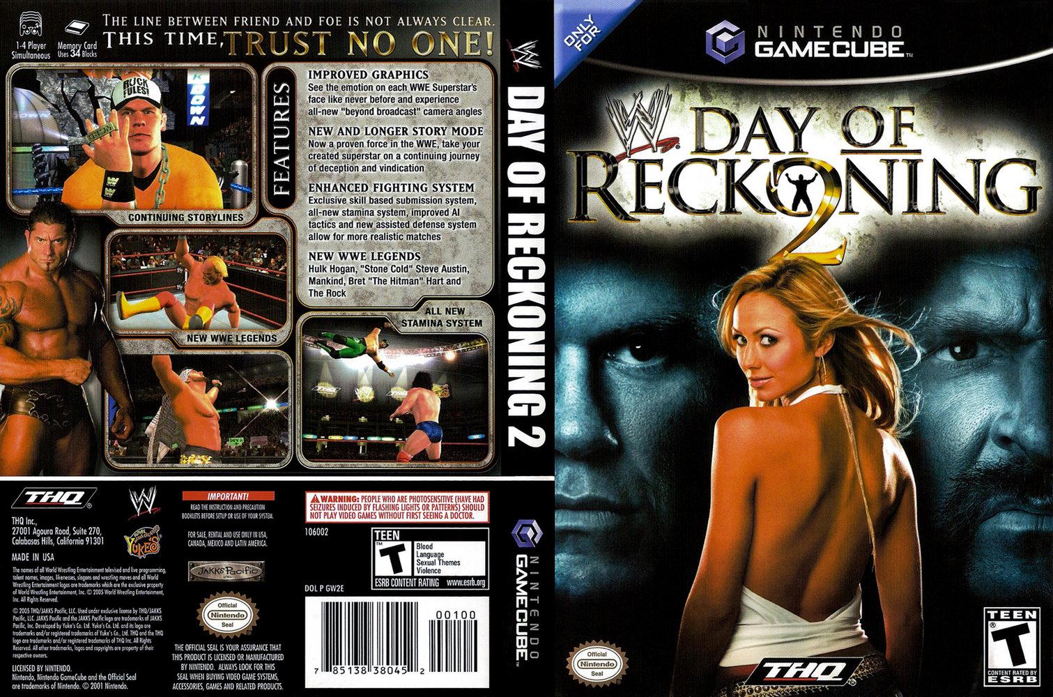 WWE Day Of Reckoning 2 ISO < GCN ISOs | Emuparadise