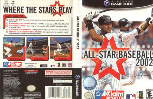 All Star Baseball 2002 Cover - Click for full size image