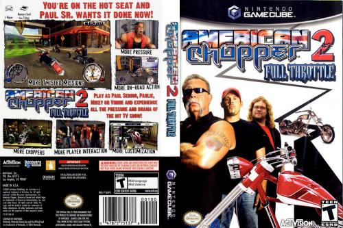 American Chopper 2 Full Throttle Cover - Click for full size image
