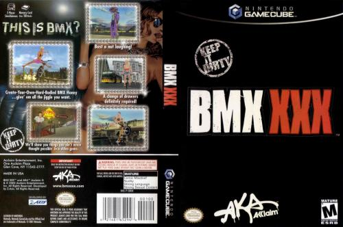 BMX XXX (Europe) (En,Fr,De,Es) Cover - Click for full size image