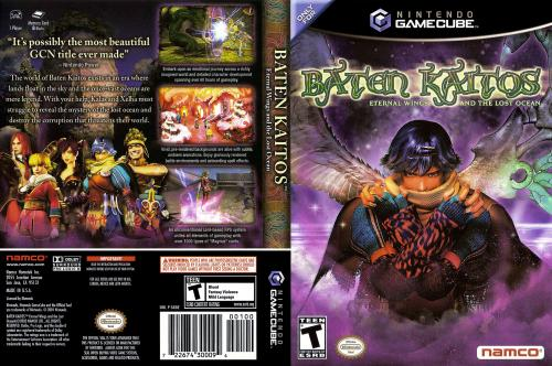 Baten Kaitos - Eternal Wings and the Lost Ocean (Europe) (En,Fr,De,Es,It) (Disc 1) Cover - Click for full size image
