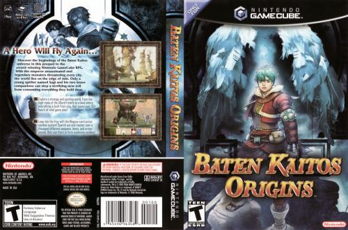 Baten Kaitos Origins (Disc 1) Cover - Click for full size image