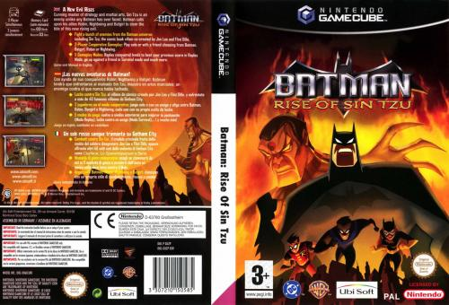 Batman Rise Of Sin Tzu Cover - Click for full size image