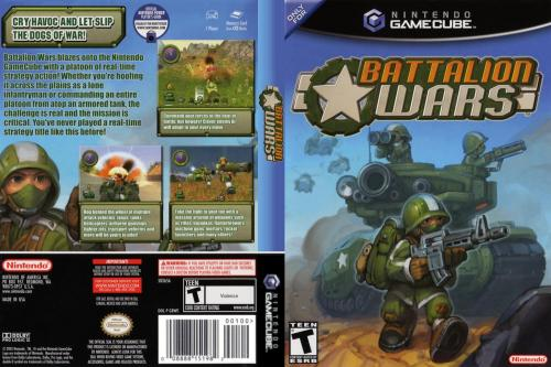 Battalion Wars (Europe) (En,Fr,De,Es,It) Cover - Click for full size image