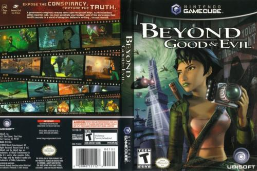 Beyond Good And Evil Cover - Click for full size image