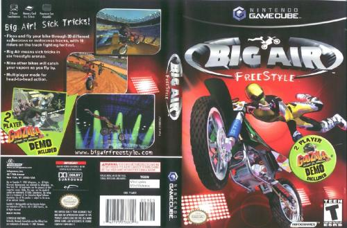 Big Air Freestyle Cover - Click for full size image