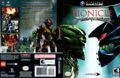 Bionicle Heroes Cover - Click for full size image