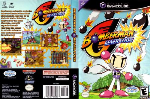 Bomberman Generation Cover - Click for full size image