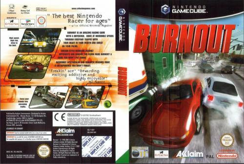 Burnout (Europe) (En,Fr,De,Es,It) Cover - Click for full size image