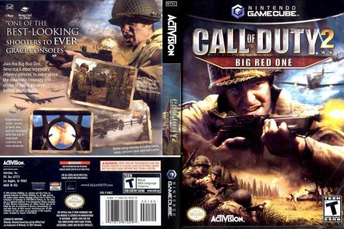 Call of Duty 2 Big Red One Cover - Click for full size image
