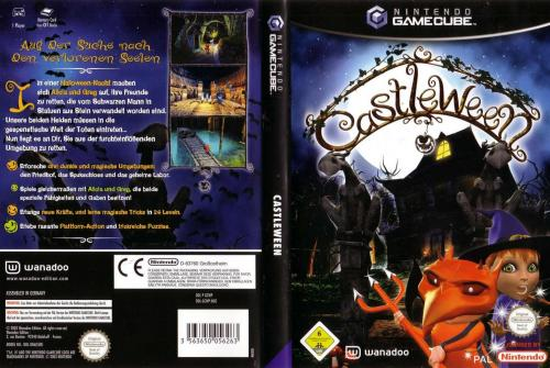 Castleween (Europe) (En,Fr,De,Es,It) Cover - Click for full size image